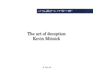 The art of deception Kevin Mitnick