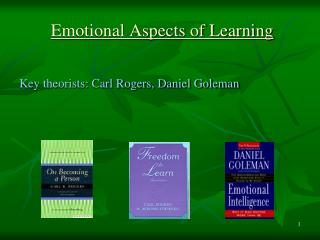 Emotional Aspects of Learning