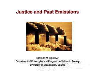 Justice and Past Emissions