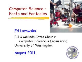 Computer Science –  Facts and Fantasies