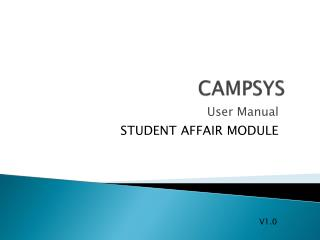 CAMPSYS