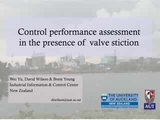 Control performance assessment  in the presence of  valve  stiction