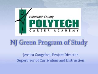 NJ Green Program of Study