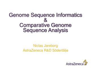 Genome  Sequence  Informatics & Comparative Genome Sequence Analysis
