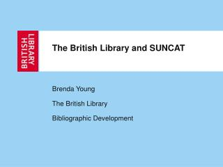 The British Library and SUNCAT
