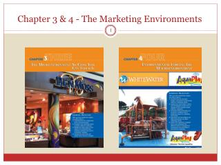 Chapter 3 & 4 - The  Marketing Environments