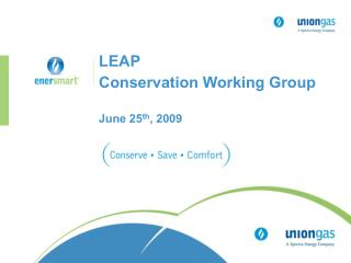 LEAP  Conservation Working Group June 25 th , 2009