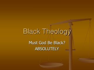 Black Theology