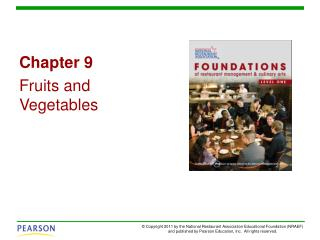 Chapter 9 Fruits and Vegetables