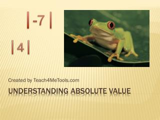 Understanding Absolute Value