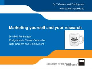 Marketing yourself and your research