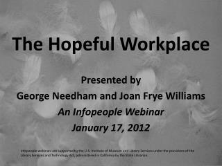 The Hopeful Workplace