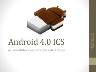 Android 4.0 ICS