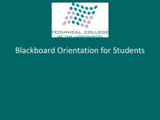 Blackboard Orientation for Students
