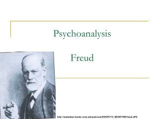 Psychoanalysis Freud