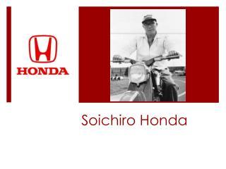 Soichiro Honda