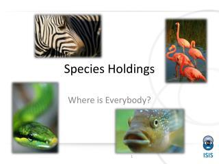 Species Holdings