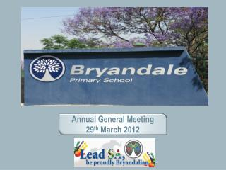 Annual General Meeting 29 th  March 2012