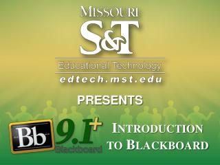 Introduction to Blackboard