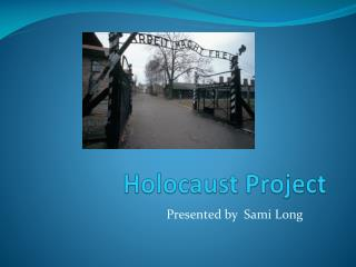 Holocaust Project