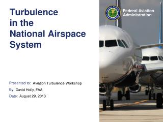 Turbulence  in the National Airspace System