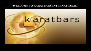 WELCOME TO KARATBARS INTERNATIONAL