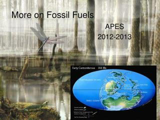 More on Fossil Fuels