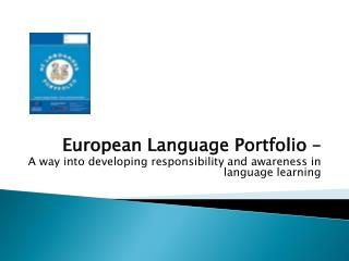 European Language Portfolio –