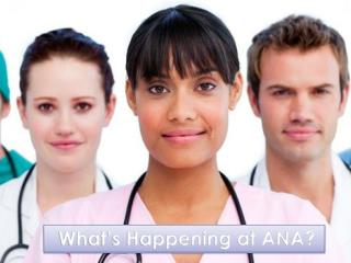 What's Happening at ANA?