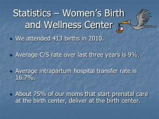 Statistics – Women's Birth and Wellness Center