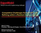 Steve D. Pryor President - Refining and Supply,  Exxon Mobil Corporation  Refining Conference 06 Houston - November 3, 2