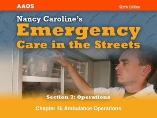 Chapter 46 Ambulance Operations