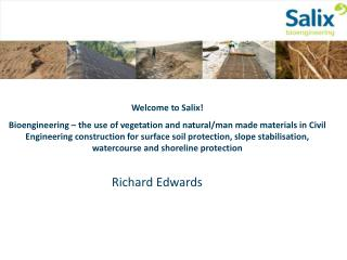 Welcome to Salix!