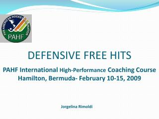 DEFENSIVE FREE HITS