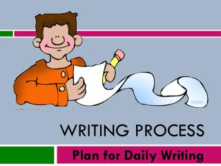 Writing Process