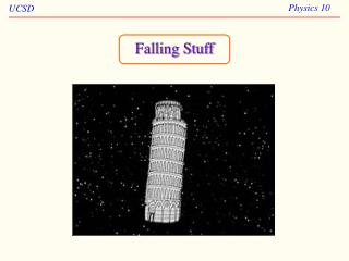 Falling Stuff