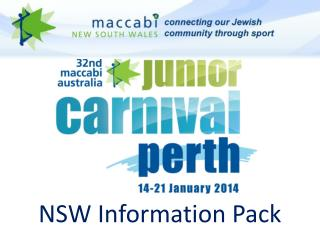 NSW Information Pack