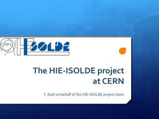 The HIE-ISOLDE project at CERN