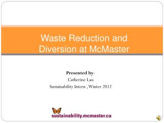 Waste Reduction and Diversion at McMaster