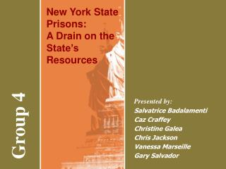 New York State Prisons: A Drain on the State's Resources
