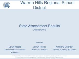 Warren Hills Regional School District