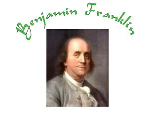 Birthplace and home of young Ben Franklin