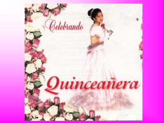 It is a celebration of girls 15 th  birthday in Latin America.