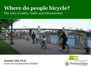Where do people bicycle? The roles of safety, traffic and infrastructure
