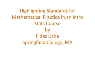Standard for Mathematical Practice: MP5: Use appropriate tools strategically
