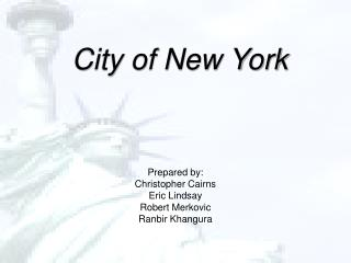 City of New York