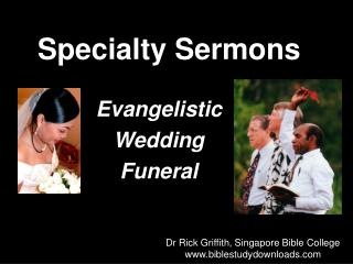 Specialty Sermons