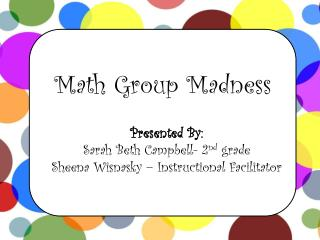 Math Group Madness