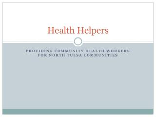 Health Helpers
