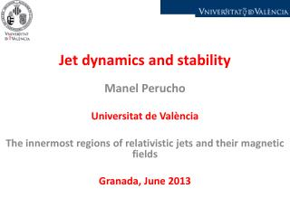 Jet dynamics and stability